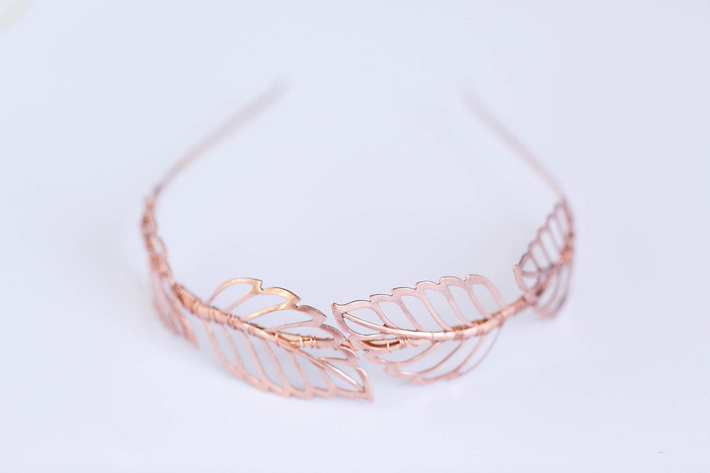 rose gold headband