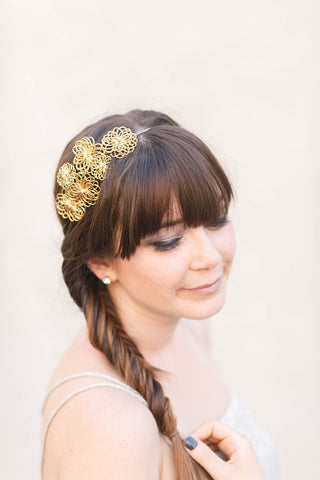 Floral Burst Headpiece