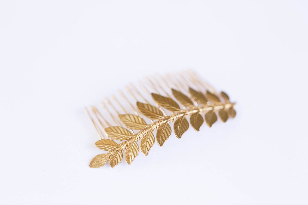 laurel leaf comb