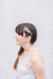 Golden Leaves Comb -  Bridal or Special Occasion Boho Comb, crown, halo, hair piece