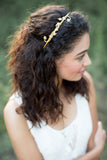 Lily Vine Rose Gold Headband