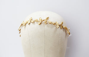 gold leaf crown