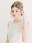 rose gold swarovski wedding crown