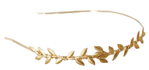 Simple Leaf Vine Headband