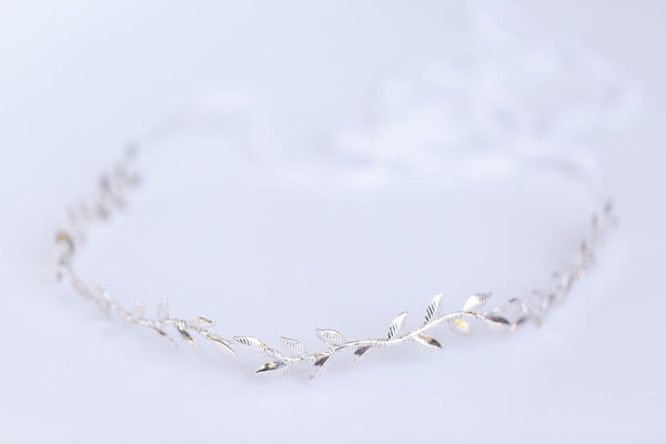 Simple Leaf Vine Crown
