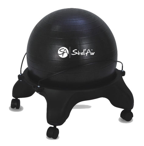 Stel'Air Backless Stability Ball Chair