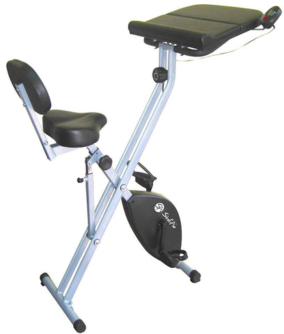 Folding Upright Desk Bike