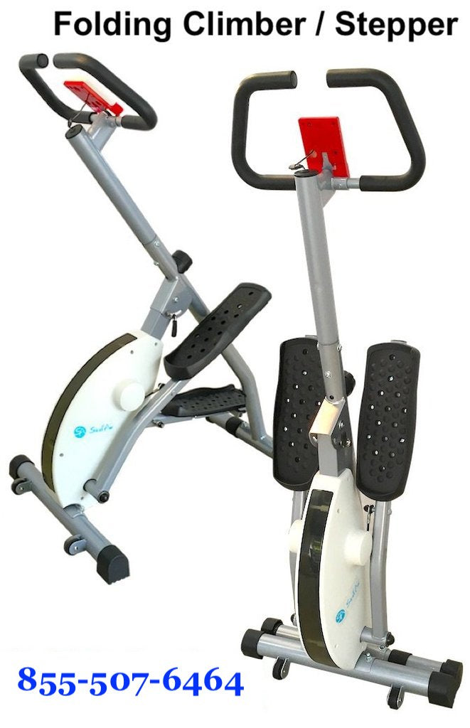 Folding Magnetic Stair Stepper Machine Zh 234 The