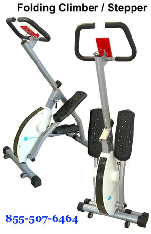 Folding Magnetic Stair Stepper Machine ZH-234