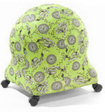 Ball Chair Colourful Slip Covers