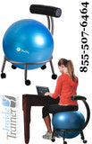 Custom Fit Adjustable Balance Ball Chair