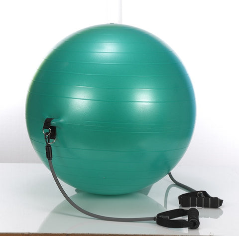 Stel'Air Exercise Ball with Bands