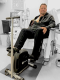 Stel'Air Magnetic Medical Exercise Pedaller With Wheels & Handle YL-832W