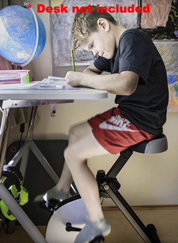 Stel Air Student Standing Desk Cycle With Seat Jl 394