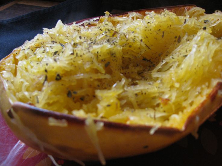 Spaghetti Squash with Basil Recipe
