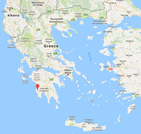 Extra Virgin Olive Oil Stamatopoulos Sons - Where is greece located