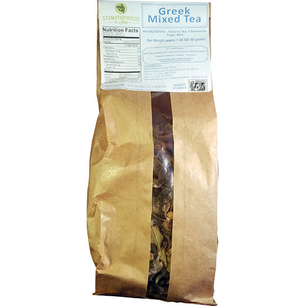Greek Mixed Tea - 40 g