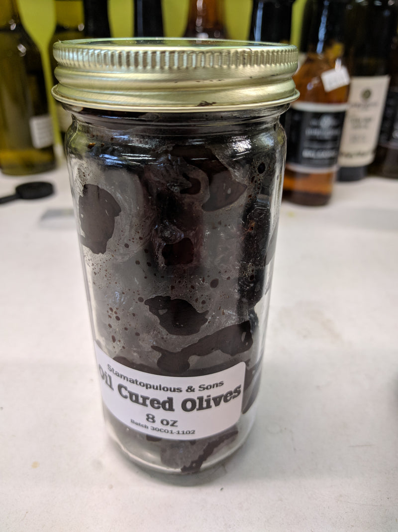Oil Cured Olives