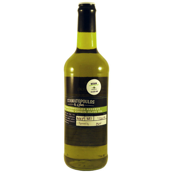 Medium Extra Virgin Olive Oil - XP