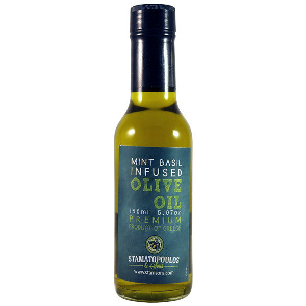 Mint Basil Infused Olive Oil