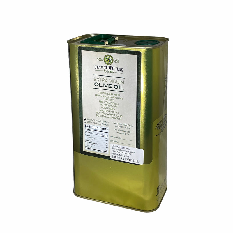 Robust Koroneiki Extra Virgin Olive Oil