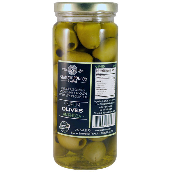 Amphissa Olives in Olive Oil