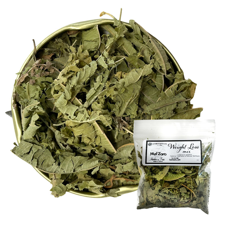 Weight Loss Mix - Louisa (lemon verbena) and Symida (birch) - 40 g