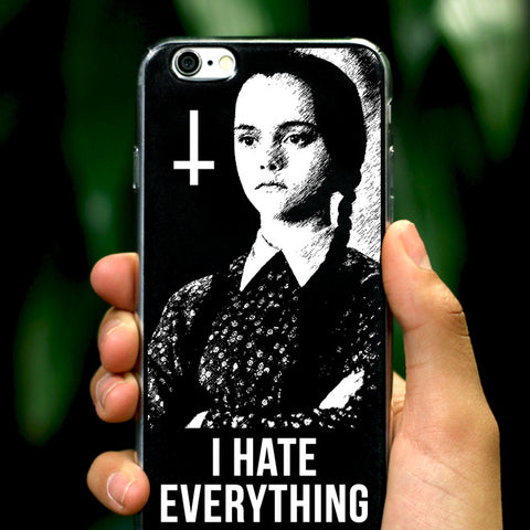 I Hate Everything iPhone Case