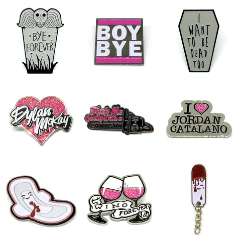 Bitchin' Pins Collection