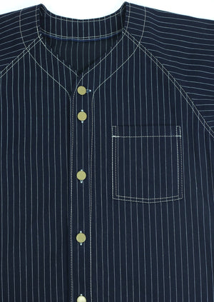 Home Run Button Down Selvedge Railway