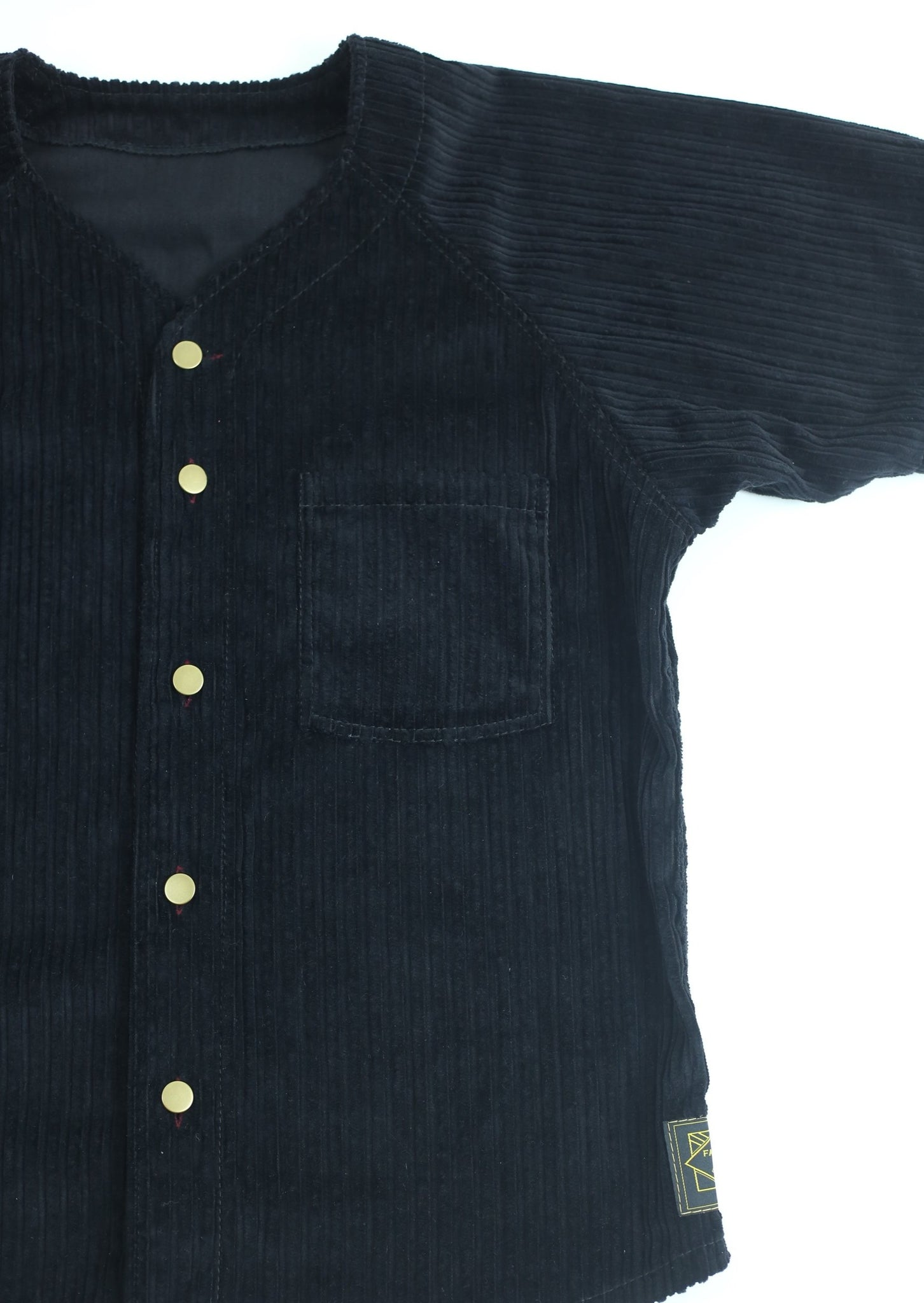 Home Run Button Down Up Cycled Cord