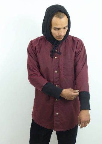 Umpire Overshirt Waxed Cotton