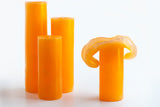 Orange Bloomy Candle Set - the candle that blooms like a flower!