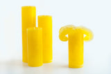 Yellow Bloomy Candle Set - the candle that blooms like a flower!