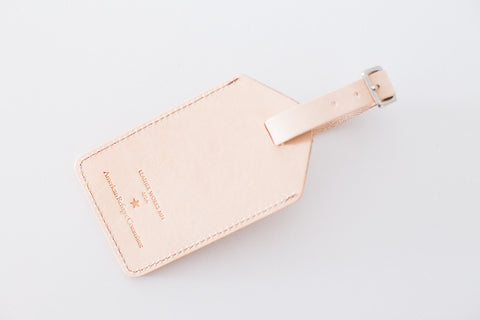 Luggage Tag - Natural