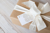 Gold Foil Gift Tags - Set of 6
