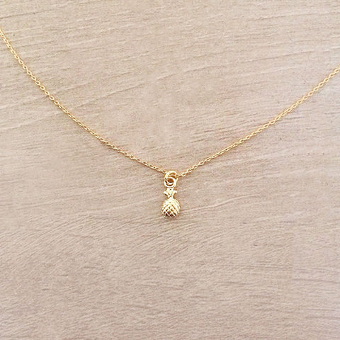 Super Dainty Pineapple Necklace
