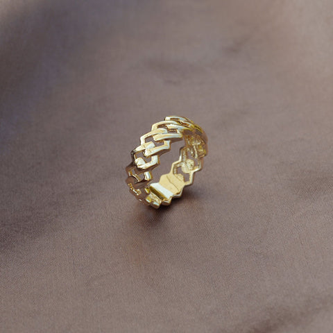 Addison - Geometric Ring - Kurafuchi