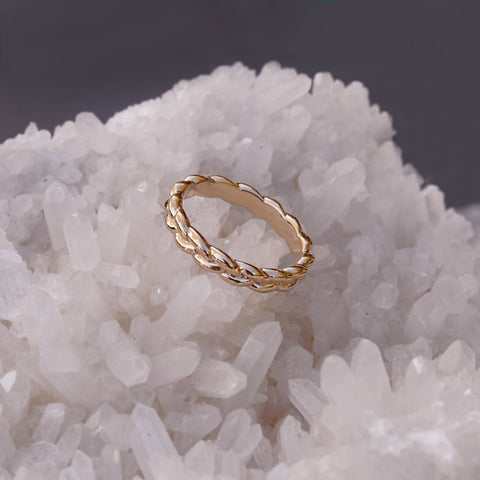 Ava - Braided Ring - Kurafuchi
