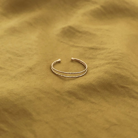 Cory - Dainty Double Ring - Kurafuchi