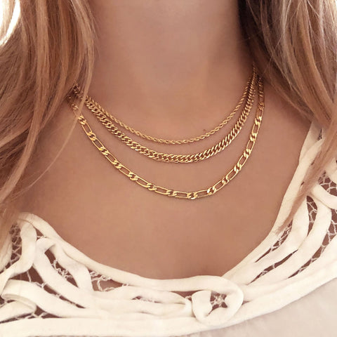 Delys - Curb Chain Necklace - Kurafuchi