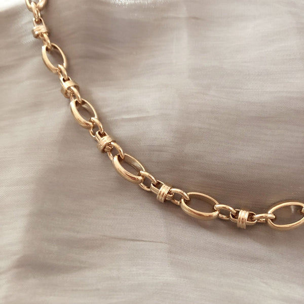 Hazel - Chunky Chain Necklace - Kurafuchi