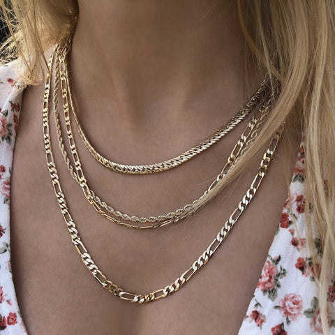 Jimena - Figaro Chain Necklace - Kurafuchi
