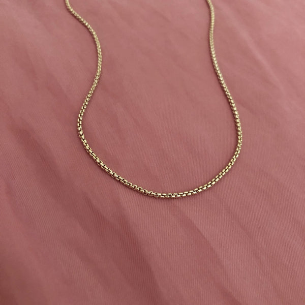 Josefa - Tube Chain Necklace - Kurafuchi