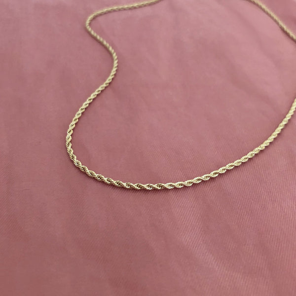 Kasey - Rope Chain Necklace - Kurafuchi