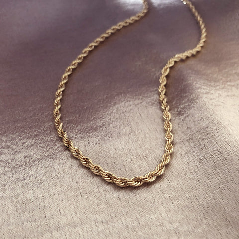 Kelcy - Rope Chain Necklace - Kurafuchi