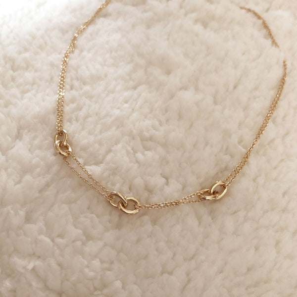 Moira - Accent Chain Necklace - Kurafuchi