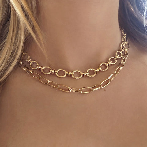 Nasira - Chunky Chain Necklace - Kurafuchi