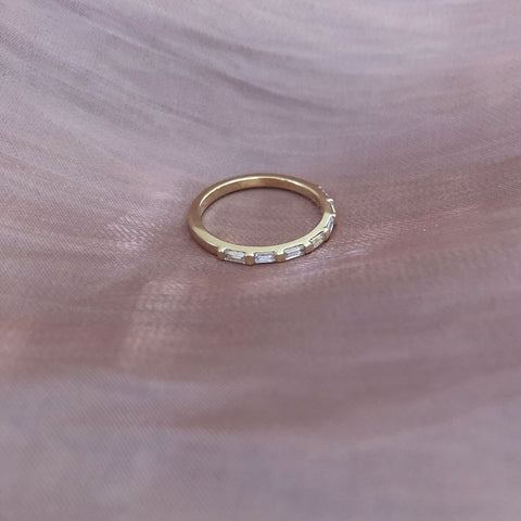 Skyla - CZ Bar Ring - Kurafuchi
