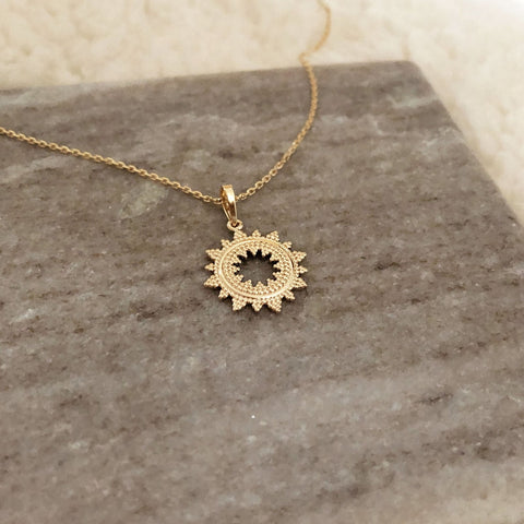 Surya - Mandala Necklace - Kurafuchi